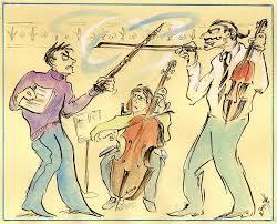 fighting musician